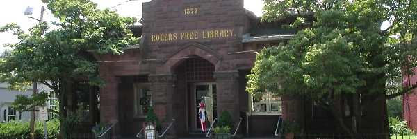 Rogers Free Library Old